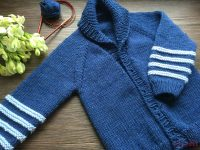 Jacke, Kinderjacke, stricken, Wolle,