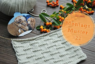 Montagsmuster, stricken, Anleitung, Wolle, DIY