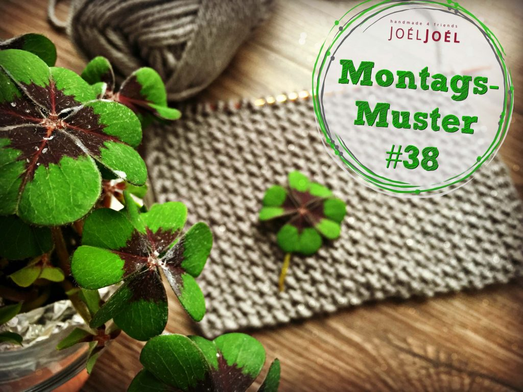 Montagsmuster, stricken, Anleitung, DIY, Wolle, Silvester, Montag, Strickanleitung, Muster