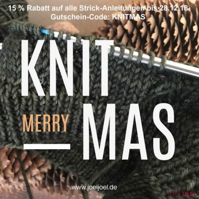 Merry Knitmas, stricken. Rabatt, Anleitungen, DIY