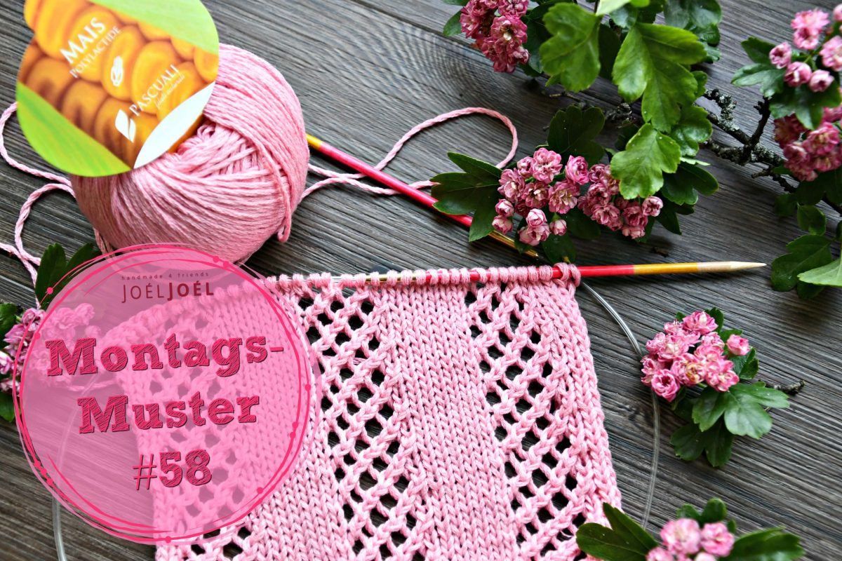 Montagsmuster, stricken, Anleitung, DIY, Wolle,