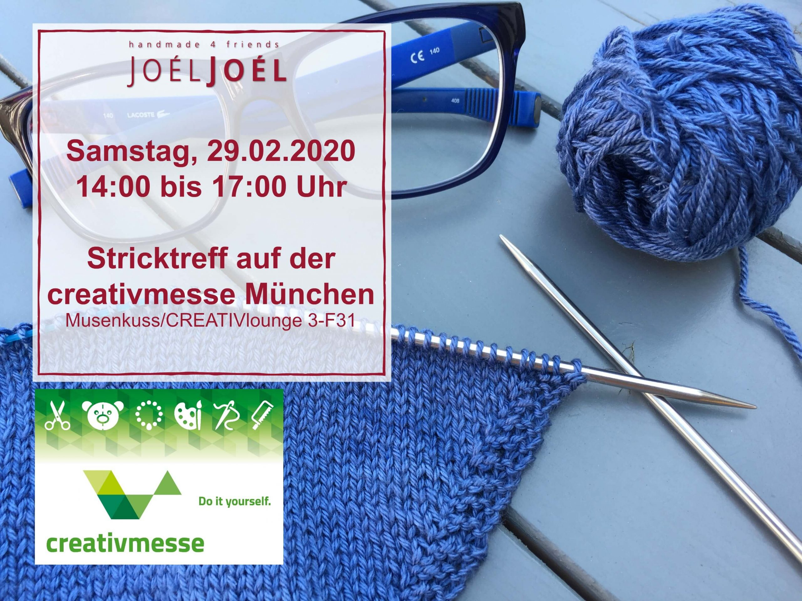 Stricktreff, creativmesse, stricken, Wolle