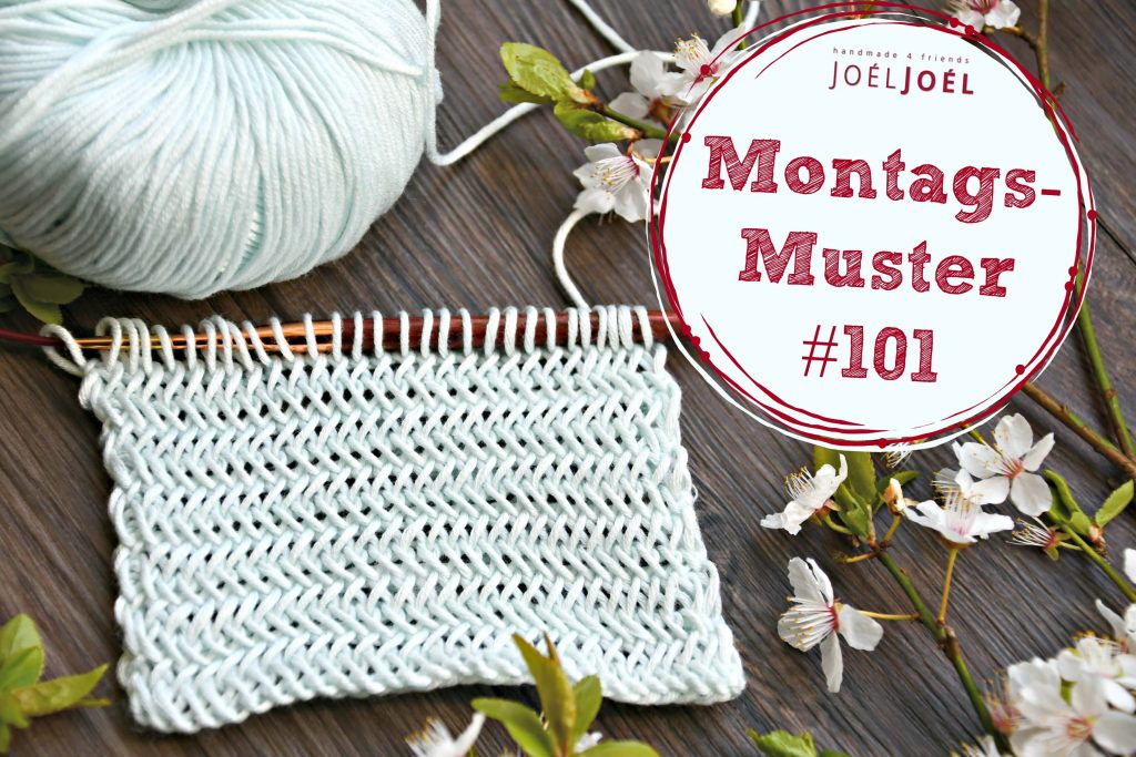 Montagsmuster, Strickanleitung, DIY, stricken, Wolle