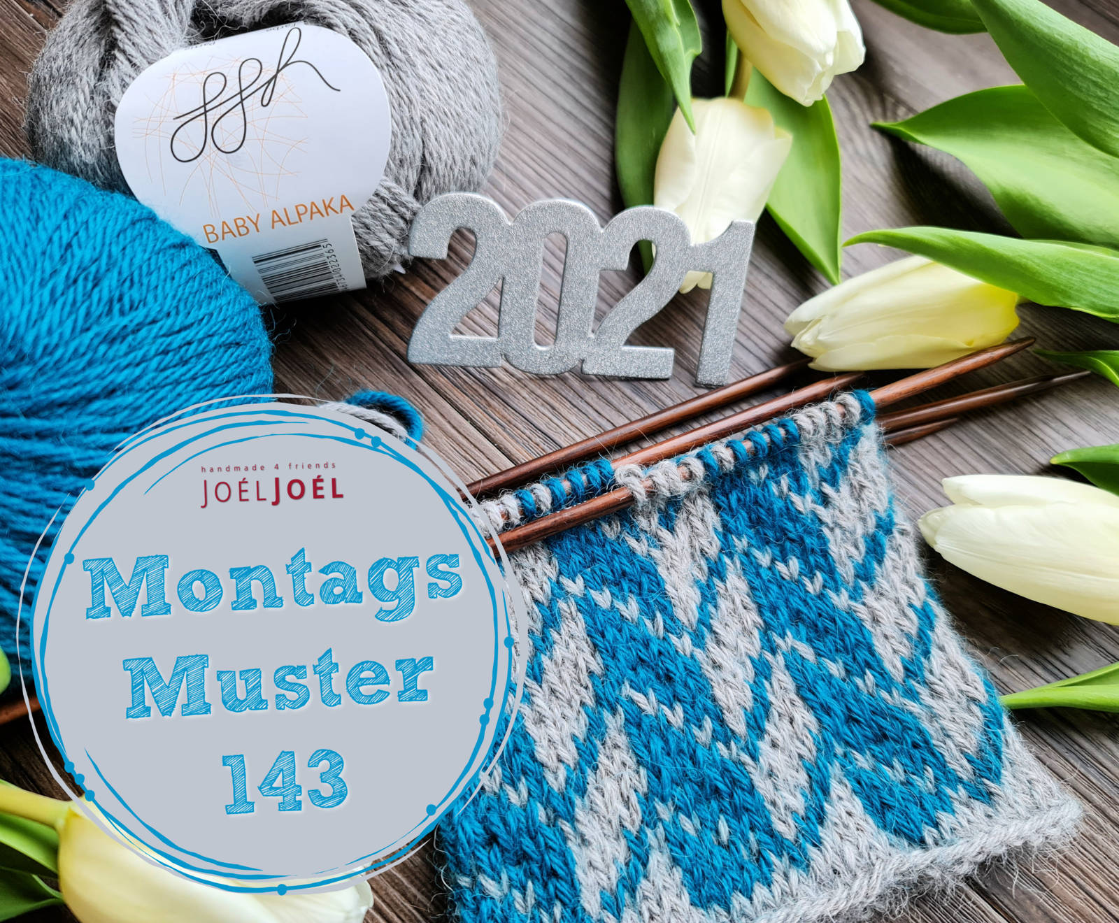 Montagsmuster, stricken, Strickmuster, Fair Isle, Wolle, DIY