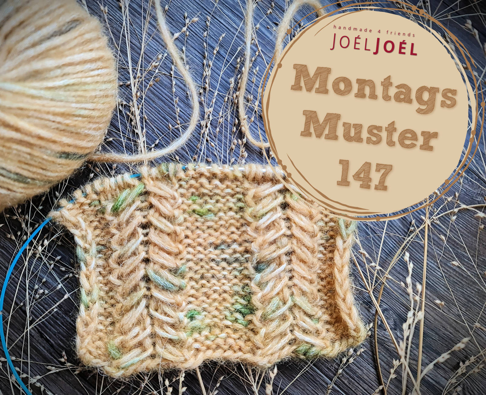 Montagsmuster, stricken, Strickmuster, DIY, stricken, Wolle