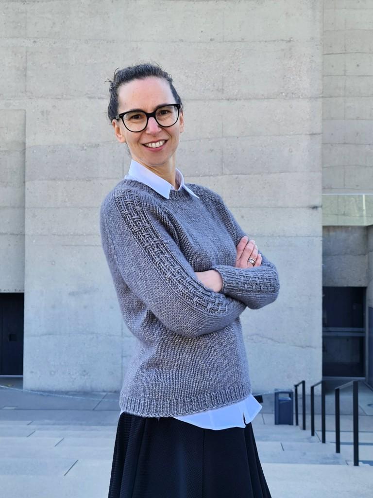 Sweater, Kolina, stricken, Anleitung