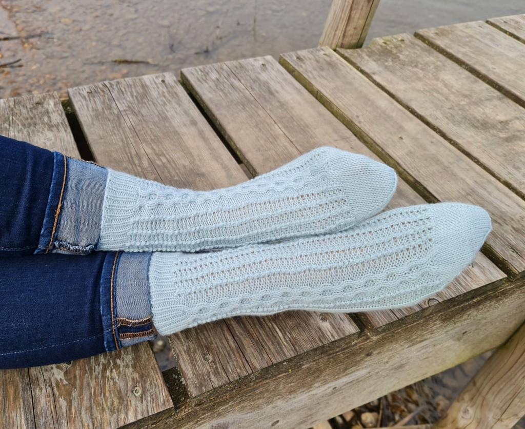 Socken AMINA, Socken, stricken, Strickanleitung