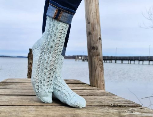 Neues Design – Socken AMINA