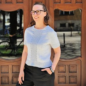 Shirt Kolina, Strickanleitung, stricken, Wolle, DIY, Shirt