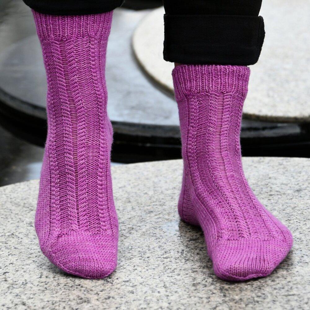 Socken LAURENA, Anleitung,