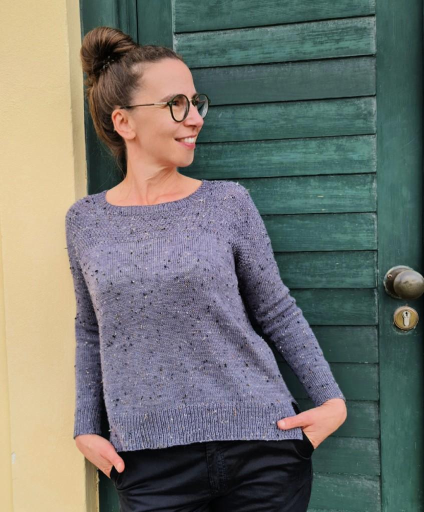 Sweater RELINA, Anleitung, DIY